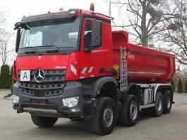 kipper vrachtwagen > 7.5 t Mercedes-Benz AROCS 4145 8x6 EURO6 Muldenkipper Carnehl