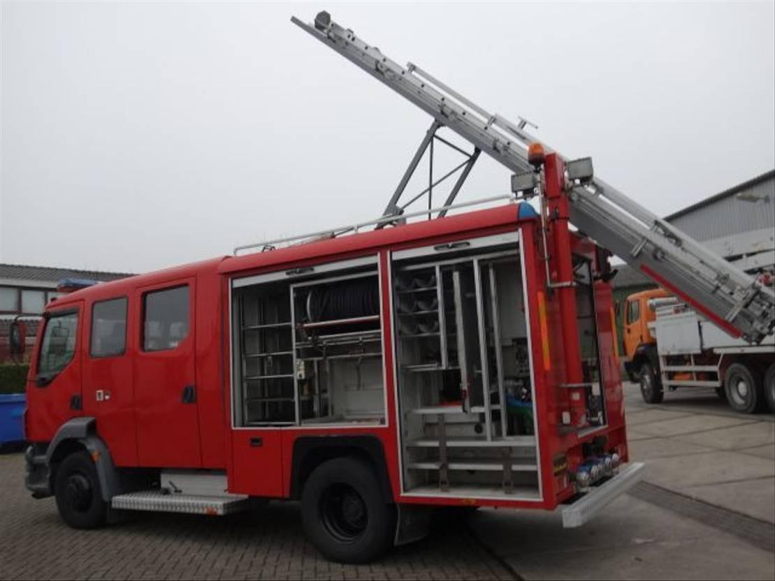 brandweerwagen vrachtwagen DAF 55-250 ZIEGLER pump bomeros firetruck 2003