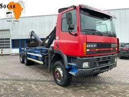 chassis cabine vrachtwagen DAF 85.360 85 ATI 360 6x4 /Crane 1996