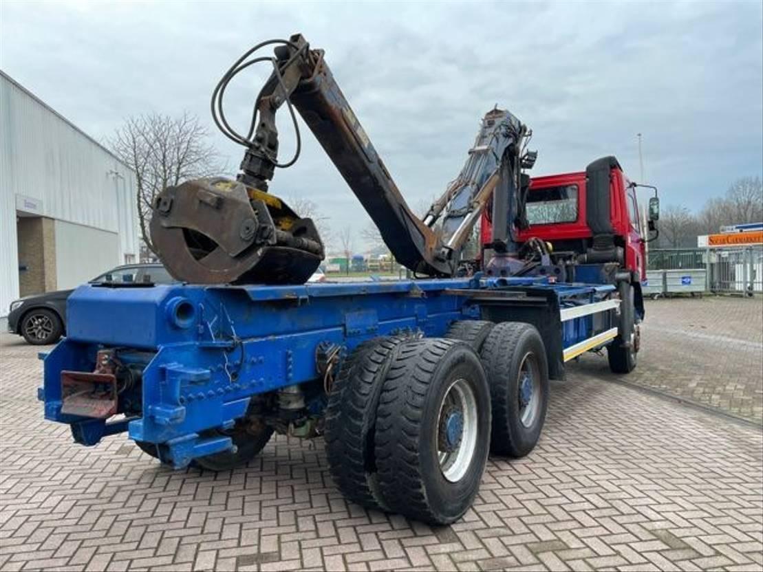 chassis cabine vrachtwagen DAF 85 ATI 360 6x4 /Crane 1996