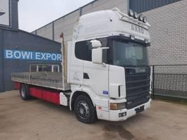 huifzeil vrachtwagen Scania 420 1999