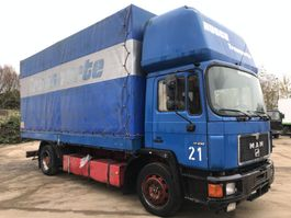 huifzeil vrachtwagen MAN 17.232 6CYL**MANUAL PUMP-GERMAN TRUCK** 1990