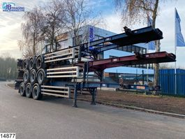 container chassis oplegger Dennison Container Set price 3 units = 10000 euros, 40 FT 2004