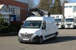hoogwerker bedrijfswagen Renault Versalift ET-36-LF 13m/2P.Korb 200kg/Navi 2015