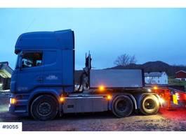 standaard trekker Scania R620 6x4 with hydraulics 2010