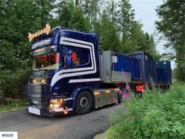 standaard trekker Scania R730 6x4 w / hydraulics 2015