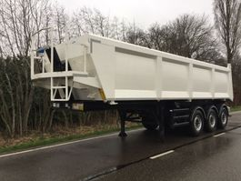 kipper oplegger Stas Stas kipper 3 asser 35 kuub NEW MOT/ APK / Like new/ steel bucket 2014