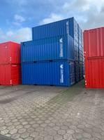 opslag zeecontainer Container met zware stellingen