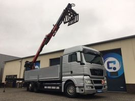 kraanwagen MAN TGX 26.440 6X2 Euro 5 EEV + FASSI F185BS.22 Crane - Autolaadkraan  Only Km 471.906 !!  GOOD CONDITION 2012