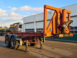 container chassis oplegger Kaiser Container chassis Kipper / 20ft. 2001