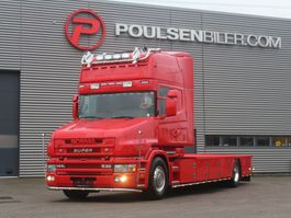 platform vrachtwagen Scania T144 530 RED LIGHT DISTRICT 2000