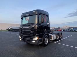 standaard trekker Scania R580,6X4, naaf reductie, Retarder, no EGR 2018