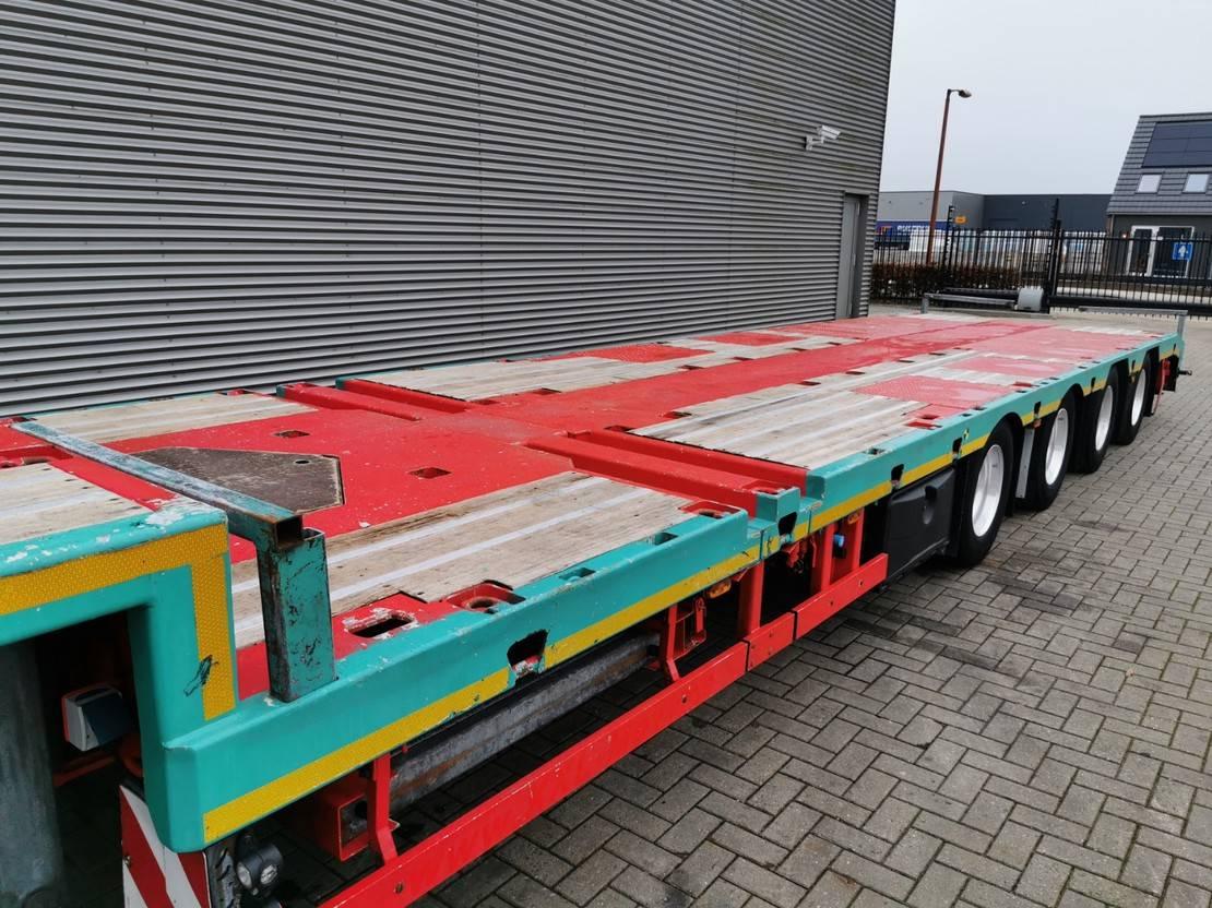 semi dieplader oplegger Meusburger MTS-4 4.3 M Extand. Liftaxle MEGA! 2015
