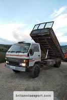 kipper vrachtwagen > 7.5 t Toyota Dyna 300 14B 3.6 diesel 7.5 ton left hand drive. 1989
