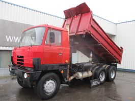 kipper vrachtwagen > 7.5 t Tatra 815 S3 , 3 way tipper , Spring suspension , V10 , 6x6 1986