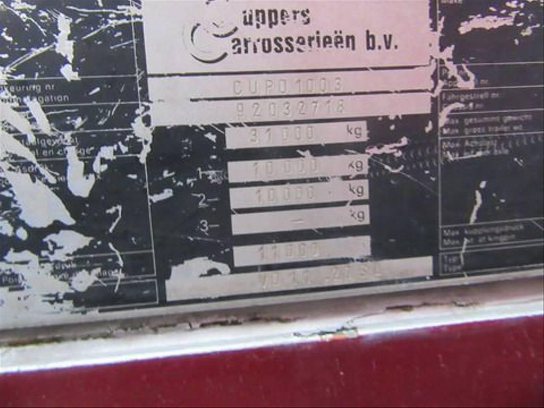 vee oplegger CUPPERS VO 11-20 SL 1992