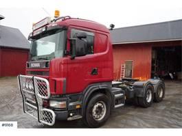 standaard trekker Scania R144 6x4 truck w / hydraulics WATCH VIDEO 2000