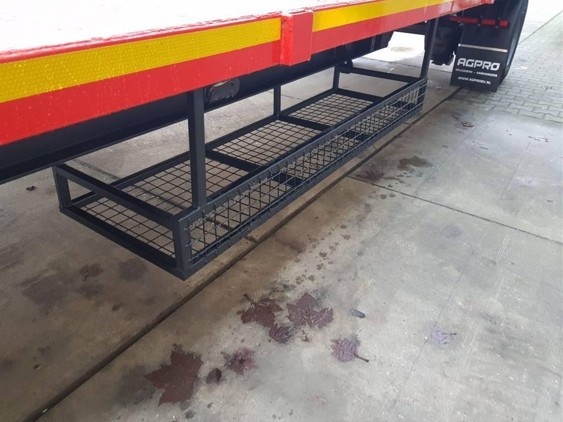 platte aanhanger vrachtwagen agpro 3 as AGPRO 2020