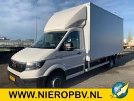 bakwagen vrachtwagen MAN TGE 5.180 bakwagen laadklep zijdeur airco nieuw 2020