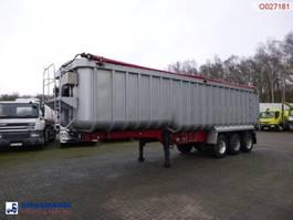kipper oplegger Montracon Tipper trailer alu 50.4 m3 + tarpaulin 2009