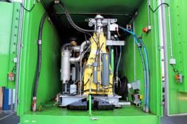 kolkenzuiger vrachtwagen Hammelmann Hammelmann HDP 502+HDP 172 HD-Pumpe Container Hochdruck 2013