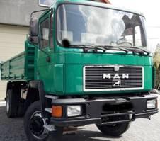 kipper vrachtwagen > 7.5 t MAN 17.232 4X4 Tipper - Left Hand 1993