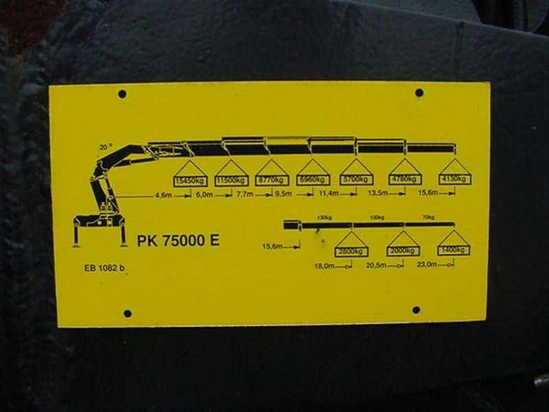 MAN - 26.464 F 2000 EURO 2 PALFINGER PK 75.000 6
