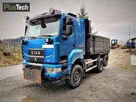 kipper vrachtwagen > 7.5 t Sisu R500 2007