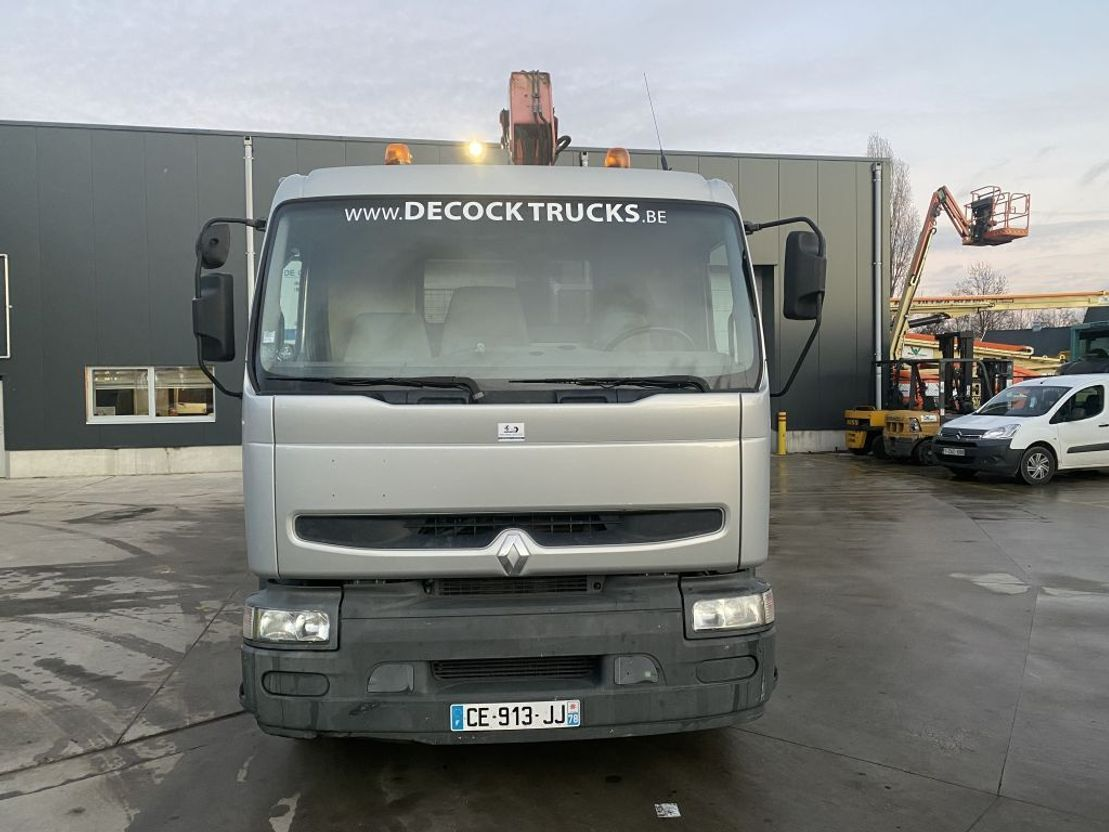 open laadbak vrachtwagen Renault PREMIUM 270 + FASSI F130 2006