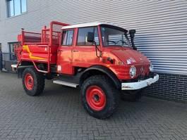 brandweerwagen vrachtwagen Unimog U416 Doka Brandweer OM352 Snelle Assen 125PK