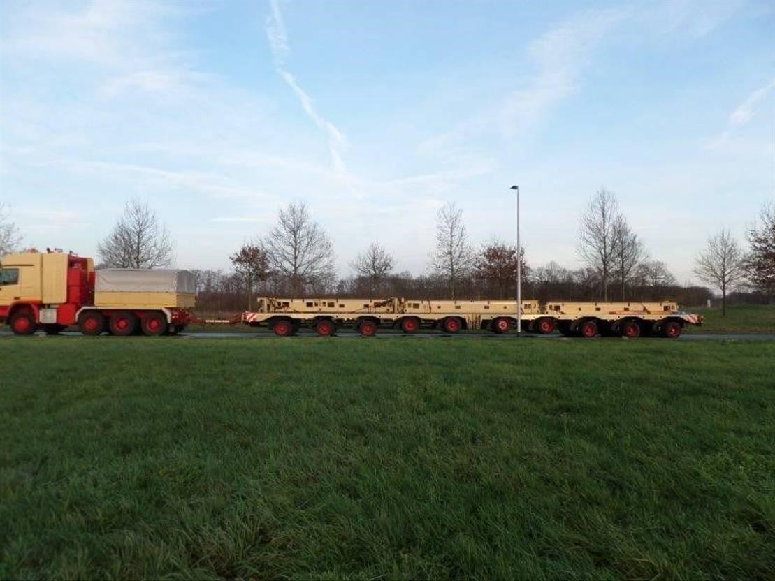 semi dieplader oplegger Diversen Greiner train transporter PW 120.10 2003