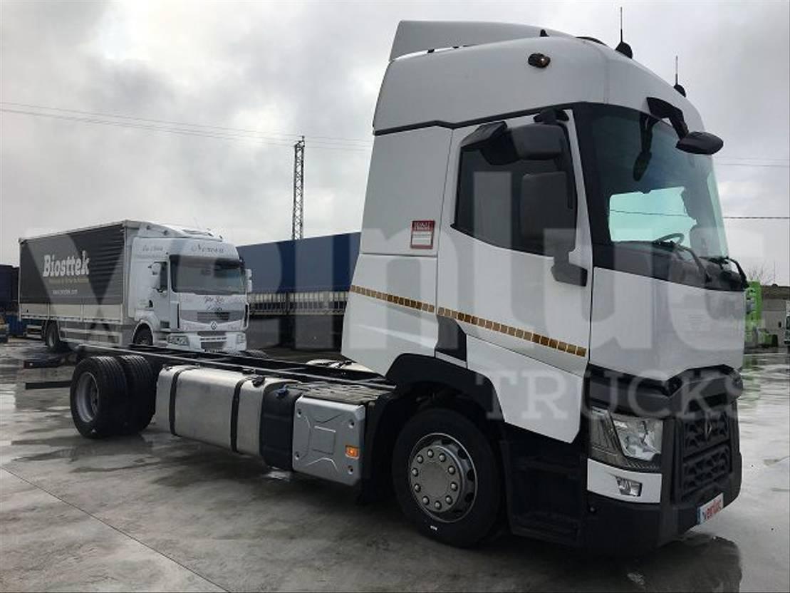 chassis cabine vrachtwagen Renault T 460 P4X2 E6 2016