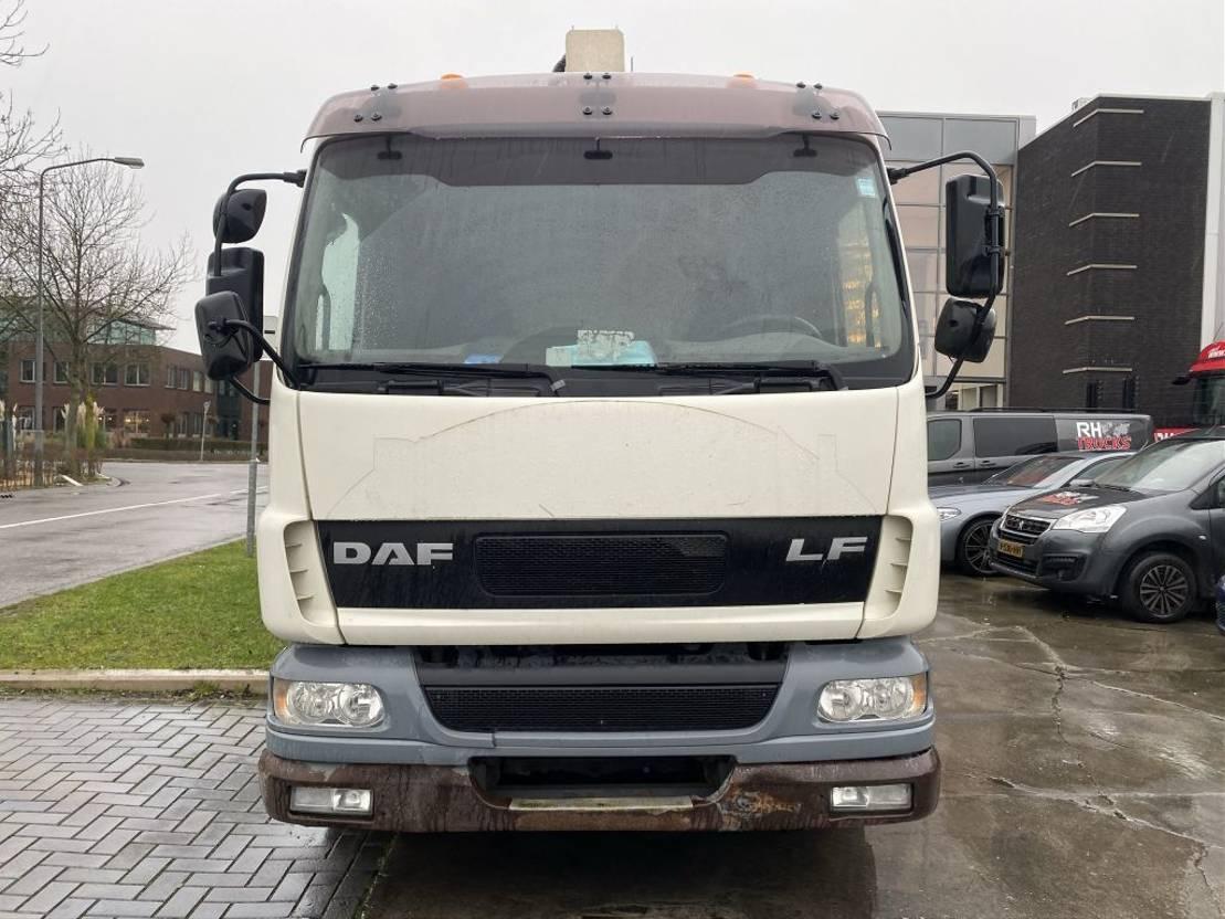 autohoogwerker vrachtwagen DAF LF 55.220 4X2 + GSR AERIAL PLATFORM 22 METER 2006