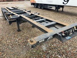 container chassis oplegger Kögel Port simple Extending 20-2x20-30-40 Ft  High Cube 2014
