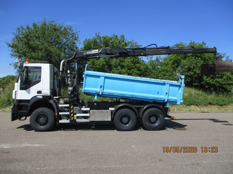 Iveco - 380 T 41 W TRAKKER EURO 5 6X6 FULLSTEELSUSPENSION 1