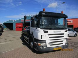 containersysteem vrachtwagen Scania P 280 EURO 5 HYVA 12 TONS PORTAALSYSTEEM 2008