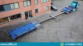 semi dieplader oplegger ES-GE 4-ass. Dubbel (2x) uitschuifbare semi dieplader // 4x gestuurd 2012