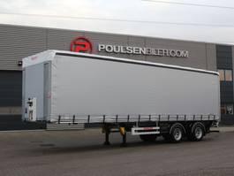 schuifzeil oplegger Hangler 2-axle 27-pll city trailer