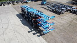 container chassis oplegger D-TEC Combitrailer CT-521-S