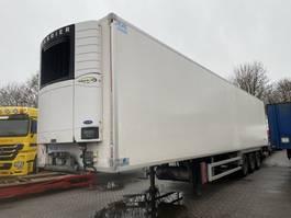 koel-vries oplegger Fruehauf 3 AS - SAF - DISC BRAKES + CARRIER VECTOR 1850 + LAADKLEP 2011