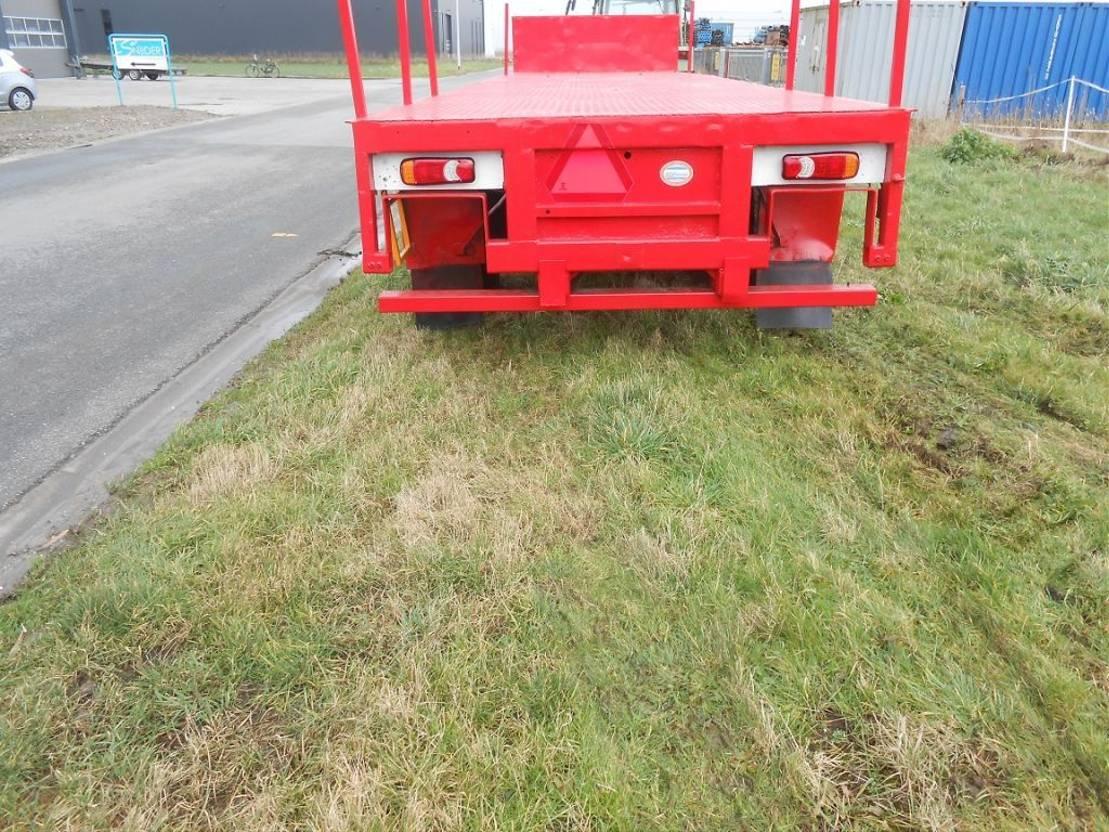 platte aanhanger vrachtwagen Dercks AGROLINER - 3 steering