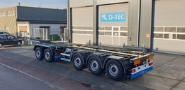 container chassis oplegger D-TEC CT-521-S 2021
