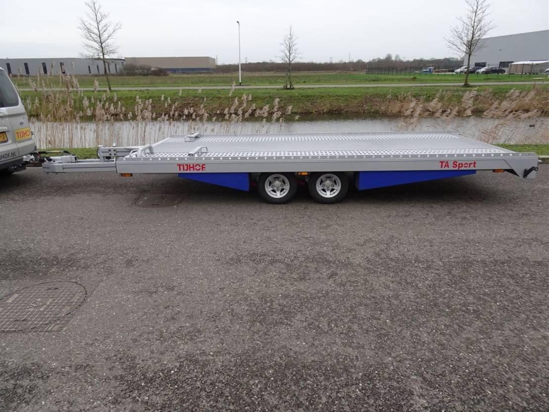 platte aanhanger vrachtwagen Tijhof TA30-ANN-Sport