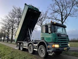 containersysteem vrachtwagen Scania P 114 CB 8X4 NZ 380 tipper 2002