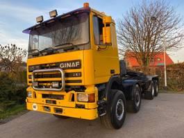 containersysteem vrachtwagen Ginaf 4438 8x8 steelsuspension 1990