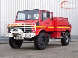 brandweerwagen vrachtwagen Unimog U1300 1300L 4x4 Unimog (435) Mercedes Benz, Doppelkabine, 2000 ltr. - Expediti... 1988