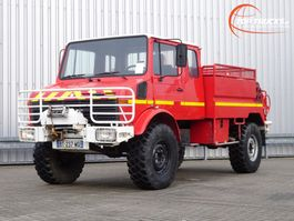 brandweerwagen vrachtwagen Unimog U 1300 1300L 4x4 Unimog (435) Mercedes Benz, Doppelkabine, 2000 ltr. - Expediti... 1988