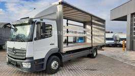 schuifzeil vrachtwagen Mercedes-Benz ATEGO 1324 L,Luftfederung, AHK, Schiebeplane
