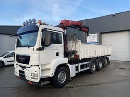 kipper vrachtwagen > 7.5 t MAN 35.440 TRI-DEM KIPPER + KRAAN 2011