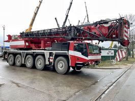 kraanwagen Faun TADANO ATF 130G-5 - 130 TONS - 60m BOOM + JIB 32m - 5x EXTENSIONS - RADIO CONTROL - FULL MB ENGINE + GEARBOX 10x8x10 - TÜV 05/01/2023 !!! - TOP BELGIAN MACHINE 2017